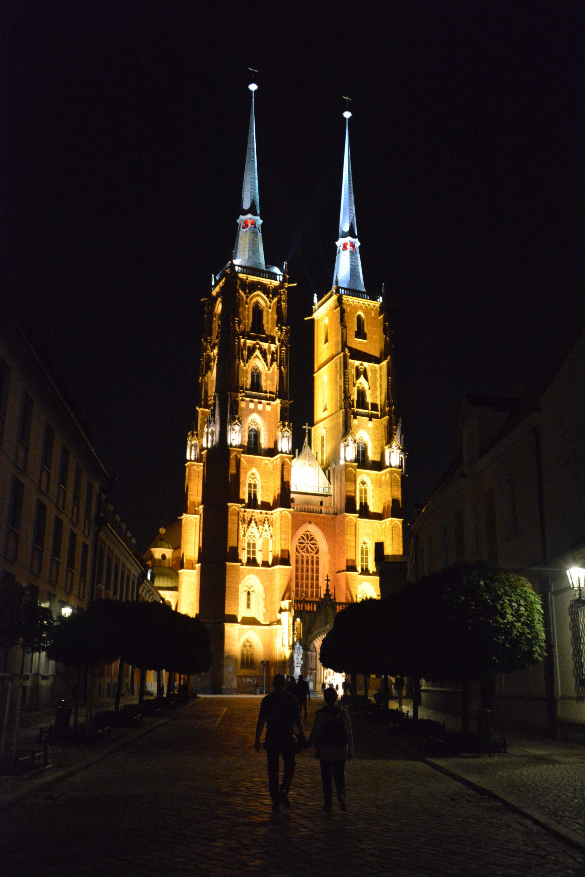 Escale nocturne à Wroclaw.