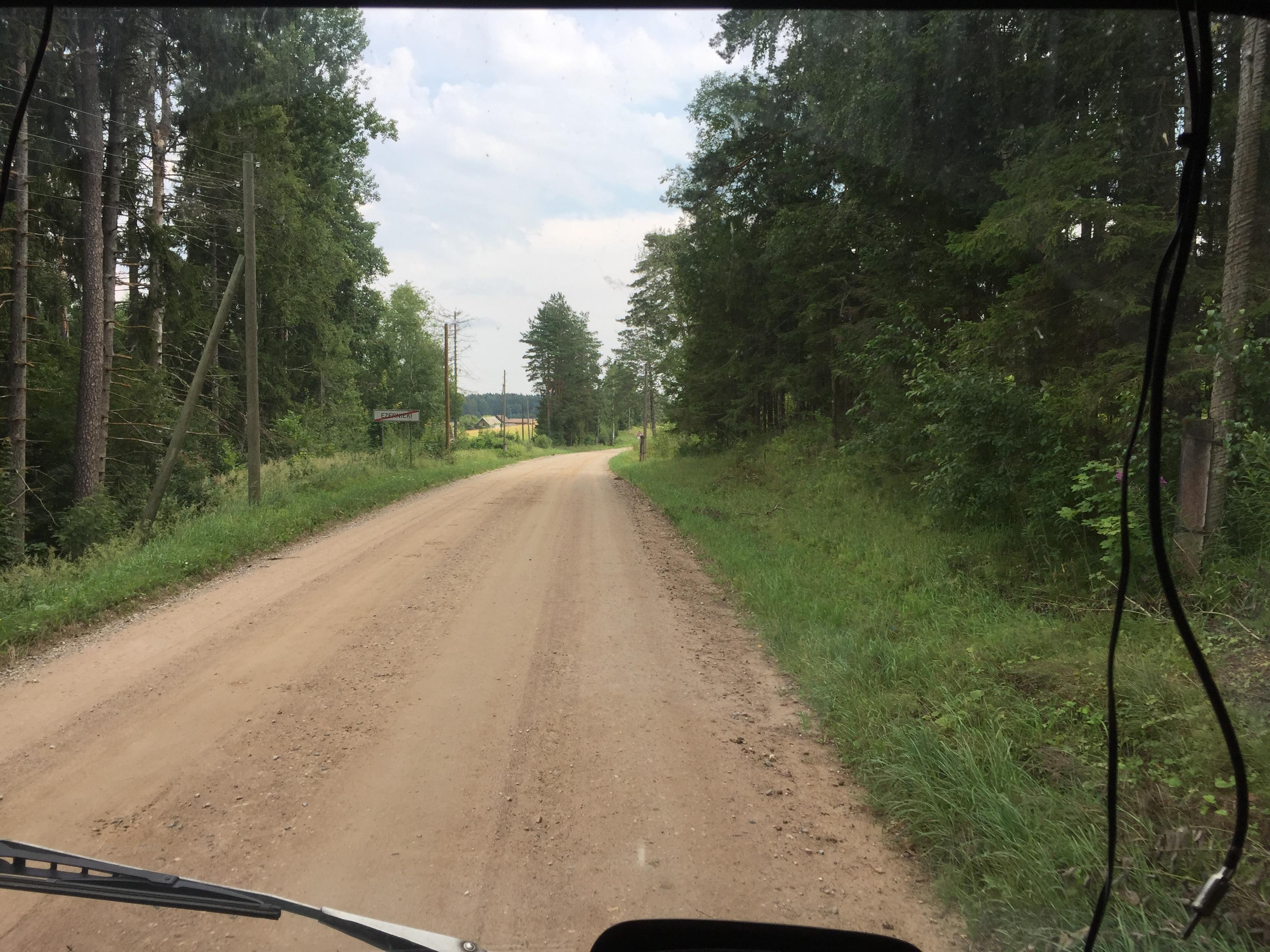 Les Routes de l'impossible : Lettonie – Russie.