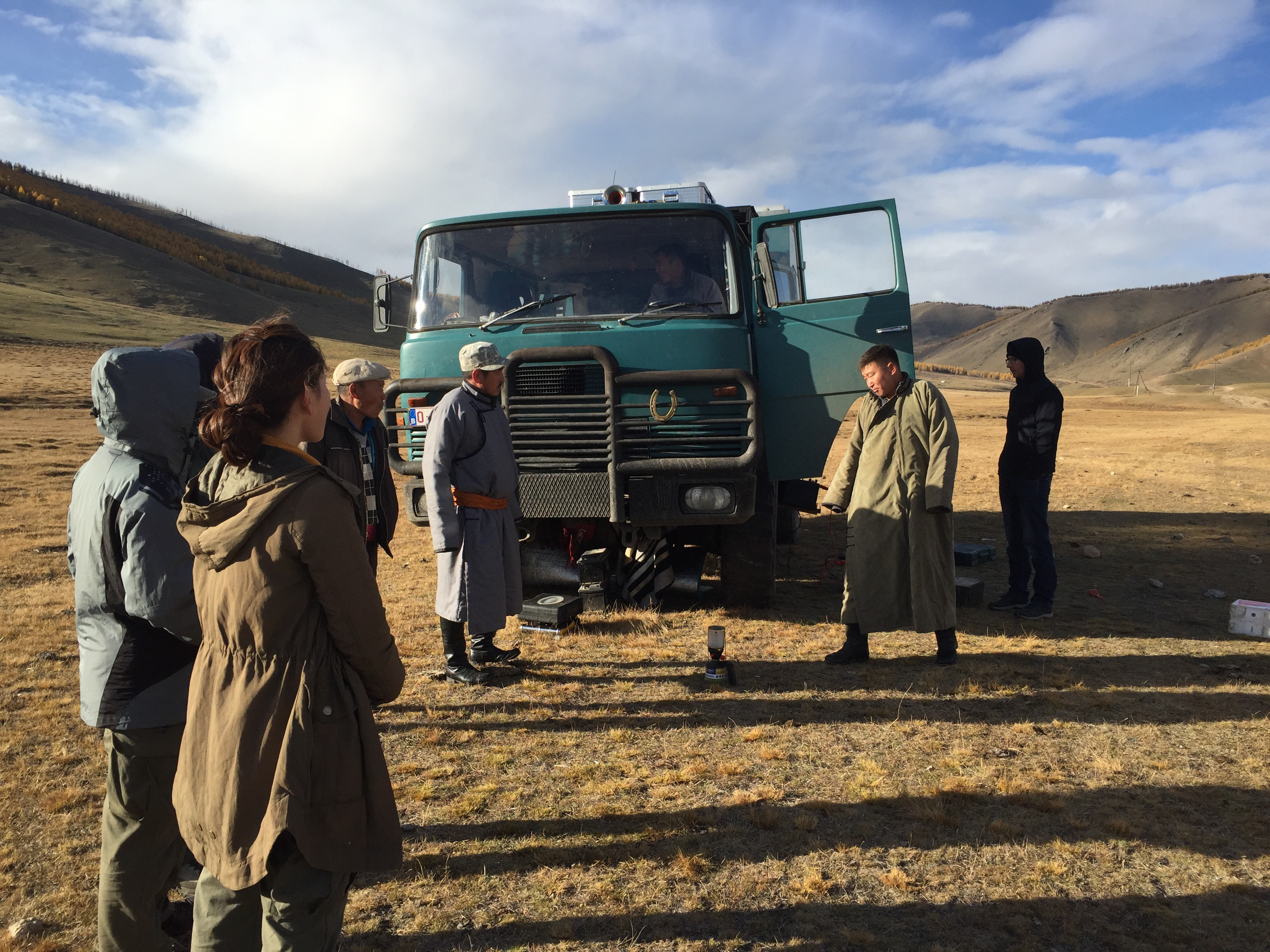 Sueurs froides (glaciales) en Mongolie